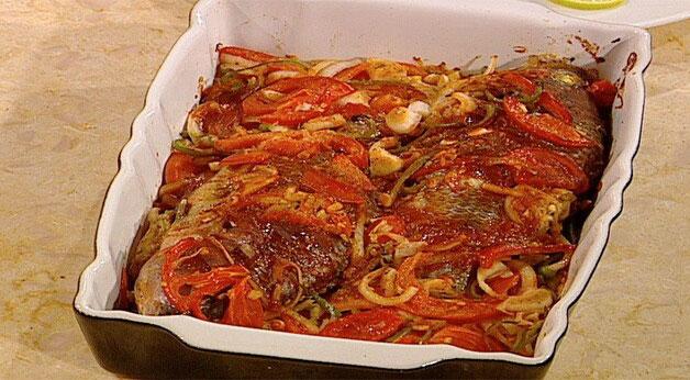 صينية السمك الشهية لاحلى افطار فى رمضان